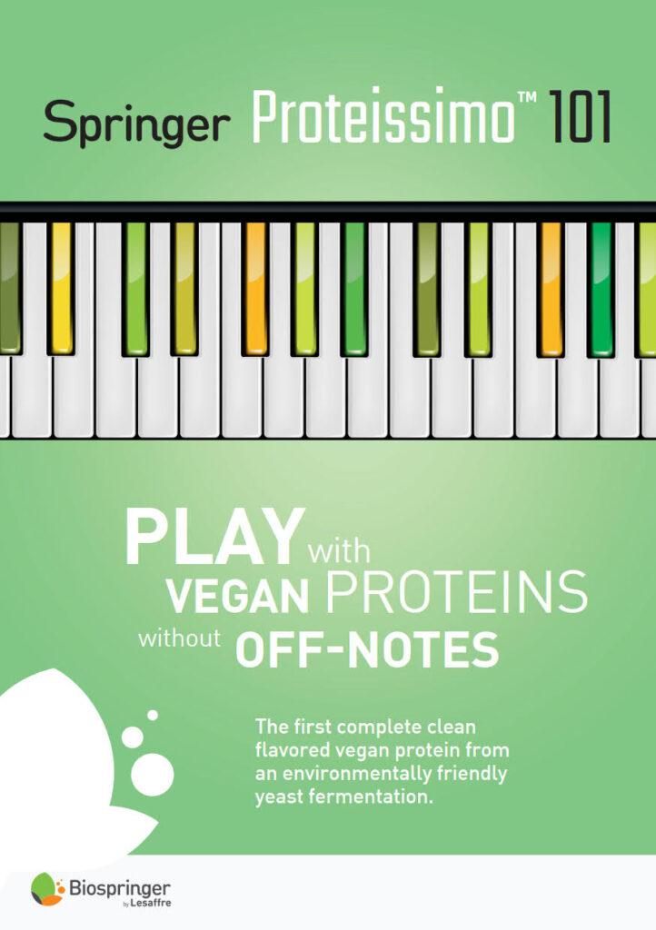 vegan protein from an environmentally friendly yeast fermentation